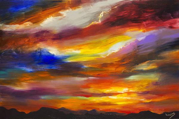 Wall Art - Painting - Majestic Skies #30 by Jonas Gerard
