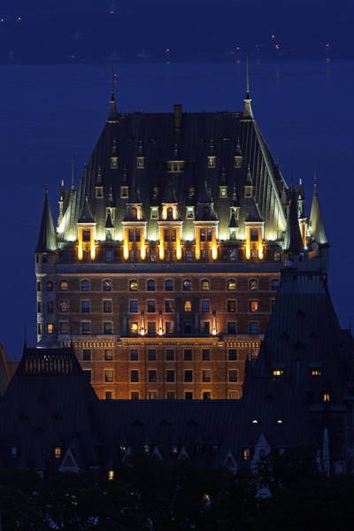 Photograph - Majesty Of Chateau Frontenac In Quebec City by Juergen Roth