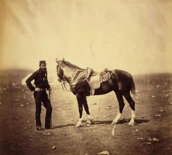 Brigade Drawing - Major Woodford, Rifle Brigade, Crimean War by Quint Lox