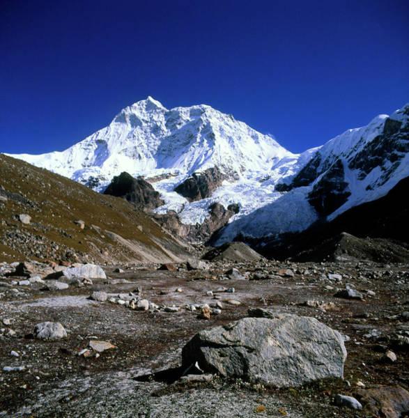 Nepal Wall Art - Photograph - Makalu by Simon Fraser/science Photo Library