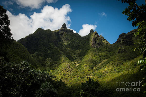 Photograph - Makana Mountain by Blake Webster