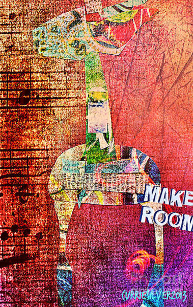 Make Room Art Print by Currie Silver