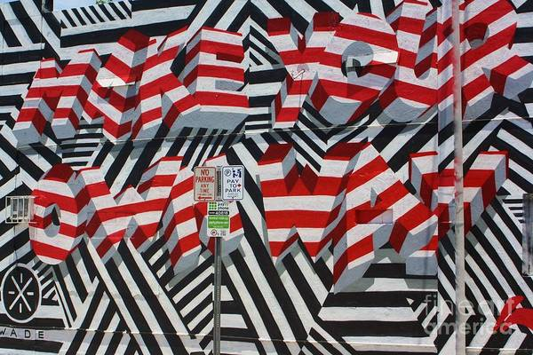 Wynwood Photograph - Make Your Own Way by Chuck  Hicks