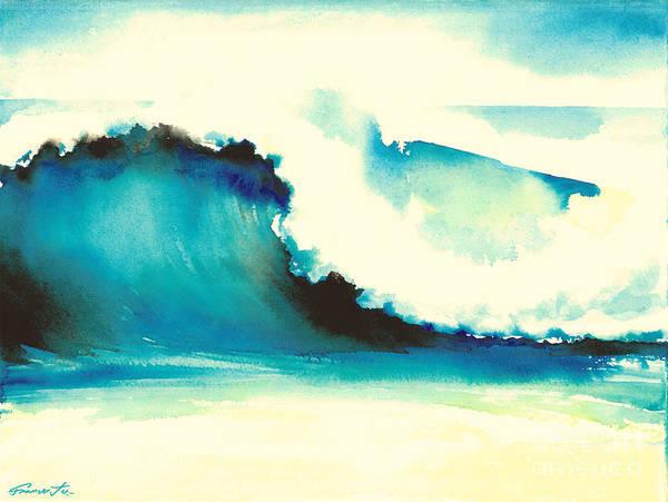 Painting - Makena Maui by Frances Ku