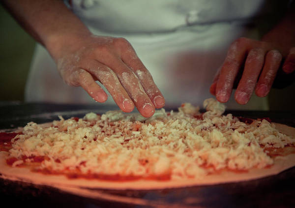 Municipality Photograph - Making Pizza by Feryersan