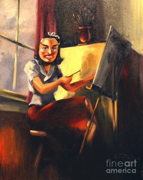 Painting - Maksed Artist 1941 by Art By Tolpo Collection