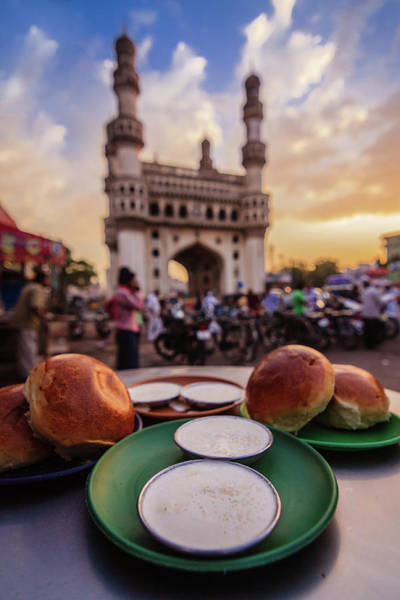 Buns Photograph - Malai Bun, Hyderabadi Breakfast by Lsprasath Photography