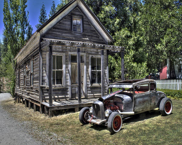 Photograph - Malakoff Hotrod by William Havle