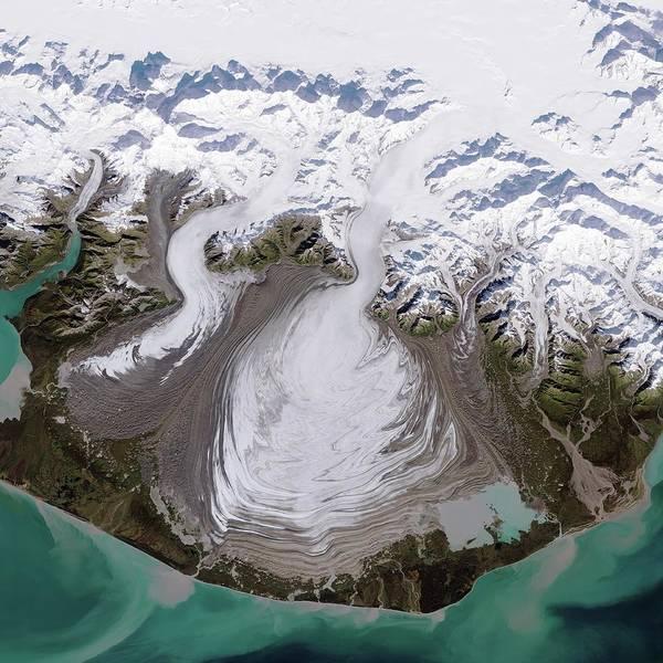 2014 Photograph - Malaspina Glacier by Nasa