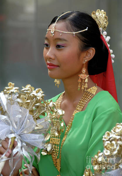 Photograph - Malaysian Dancer by Rick Piper Photography