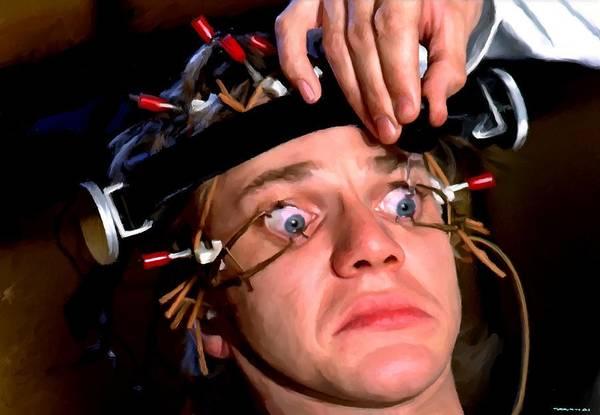 Digital Art - Malcolm Mcdowell As Alex In The Film Clockwork Orange by Gabriel T Toro