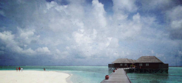 Wellness Mixed Media - Maldives by Heike Hultsch