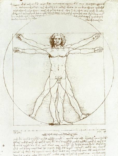 Wall Art - Photograph - Male Movement By Leonardo Da Vinci by Sheila Terry/science Photo Library