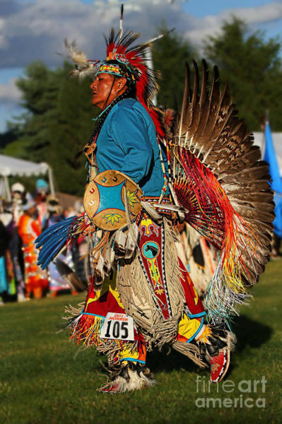 Wall Art - Photograph - Male Native Dancer Color by Scarlett Images Photography