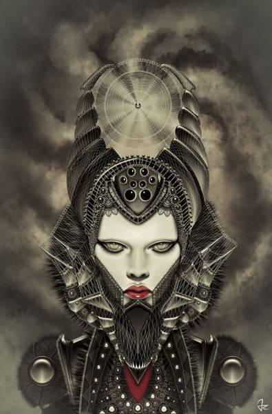 Maleficent Digital Art - Maleficent by Giulio Rossi