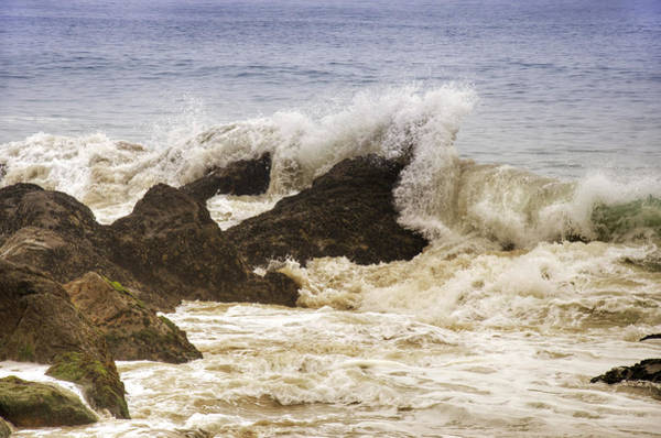 Wall Art - Photograph - Malibu Waves by Ricky Barnard