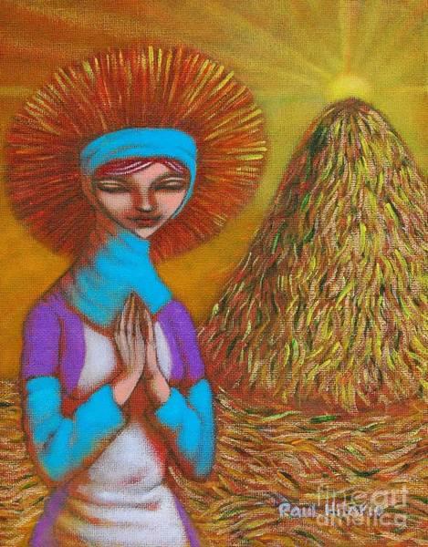 Wall Art - Painting - Maligayang Ani I by Paul Hilario