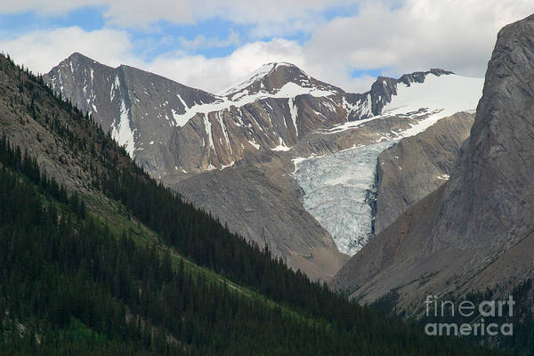 Photograph - Maligne Glacier by Charles Kozierok