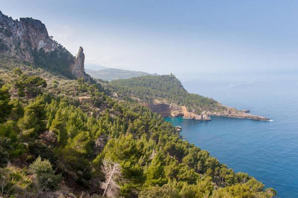 Digital Art - Mallorca Coastal Walk by Gary Eason