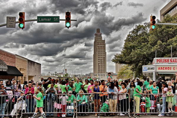 Photograph - Mal's St. Paddy's Parade by Jim Albritton