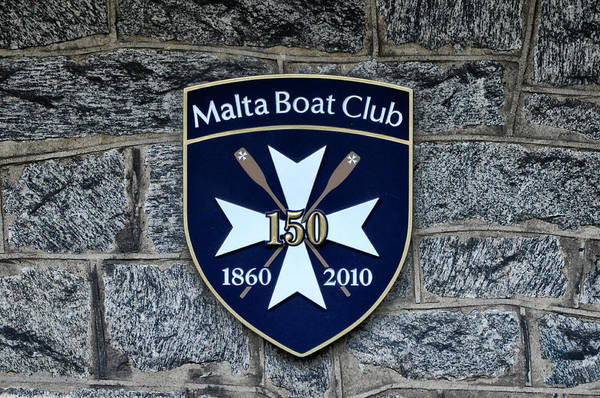 Malta Photograph - Malta Boat Club by Bill Cannon