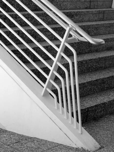 Photograph - Mam Art Deco Stairs by Anita Burgermeister
