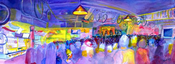 Painting - Mama Lenny And The Remedy At Road 34 by David Sockrider