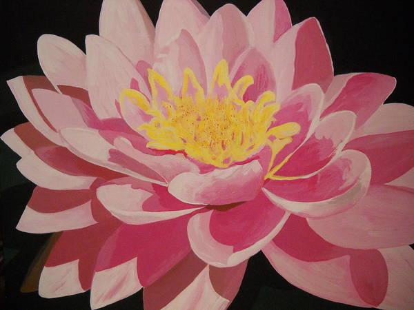 Painting - Mama's Lovely Lotus by Roberta Dunn