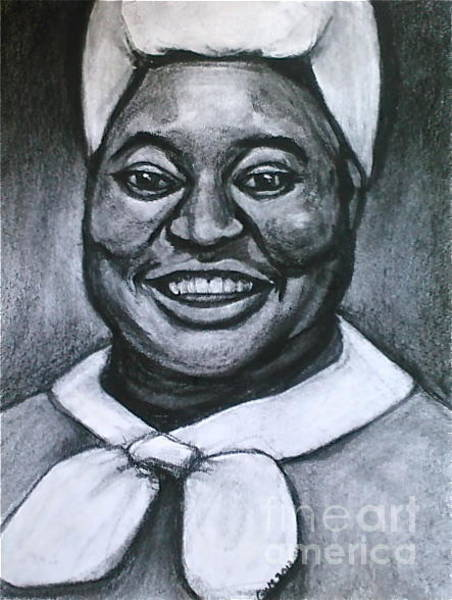 Drawing - Hattie by Gabrielle Wilson-Sealy