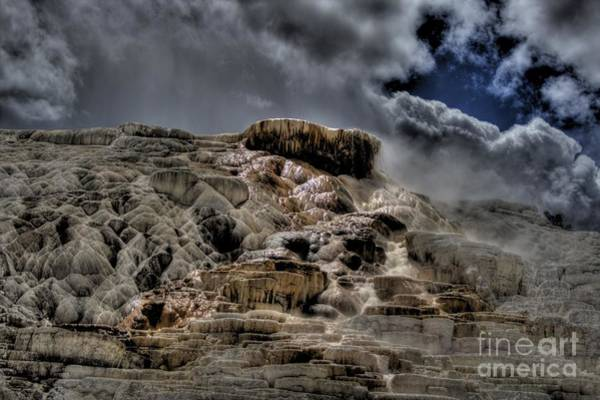 Gulick Photograph - Mammoth Hot Springs by Jeremy Gulick