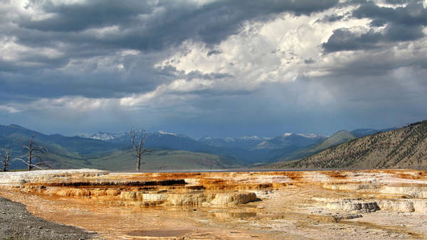 Photograph - Mammoth Hot Springs Pano by Jemmy Archer