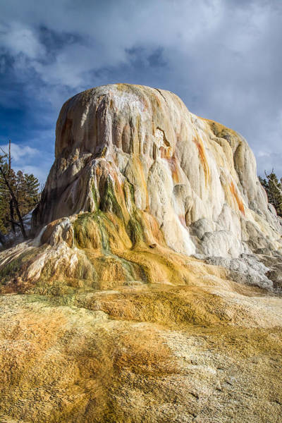 Photograph - Mammoth Hot Springs by Pierre Leclerc Photography