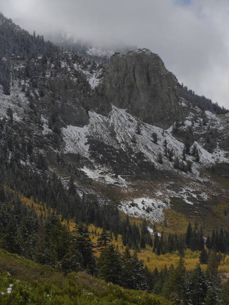 Photograph - Mammoth Rock Fall Color by Don Kreuter