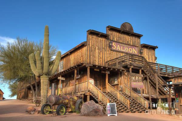 Photograph - Mammoth Saloon by Eddie Yerkish