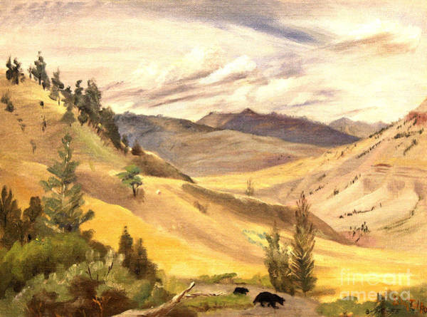Painting - Mammoth Valley by Art By Tolpo Collection