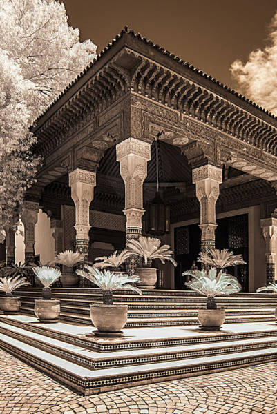 Photograph - Mamounia Hotel In Marrakech by Ellie Perla