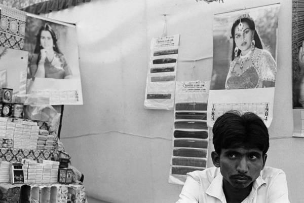 Bollywood Wall Art - Photograph - Man And Bollywood Calendar by Jagdish Agarwal