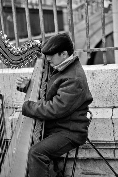 Photograph - Man And His Harp by Jennifer Robin