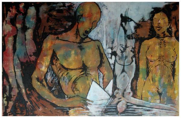 Kannan Painting - Man And Woman by Sooraj Kannan