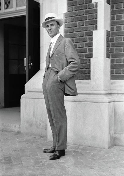 Photograph - Man, C1917 by Granger