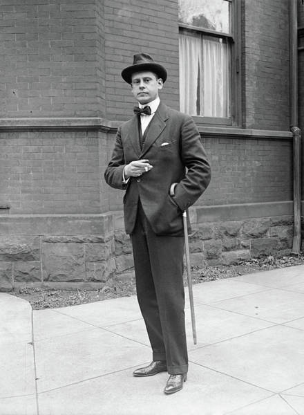 Photograph - Man, C1920 by Granger