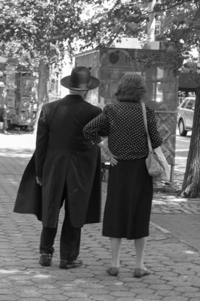 Photograph - Man Hat And Woman by Pete Hendley