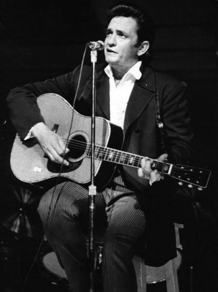 Cash Photograph - Johnny Cash by Retro Images Archive