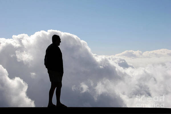 Photograph - Man In The Clouds by PJ Boylan