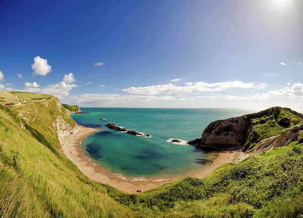 Jason Day Photograph - Man O War Cove In St. Oswalds, Dorset by S0ulsurfing - Jason Swain