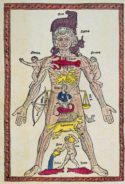 Photograph - Man Of Signs, 1495 by Granger