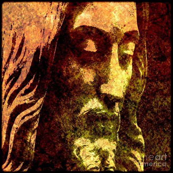 Lamb Of God Wall Art - Painting - Man Of Sorrows by Michael Grubb