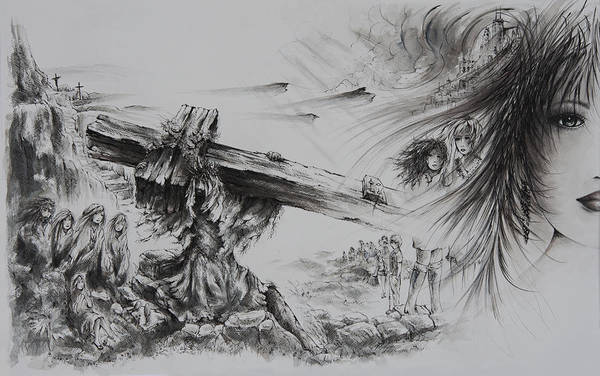 Lamb Of God Wall Art - Painting - Man Of Sorrows by William Russell Nowicki