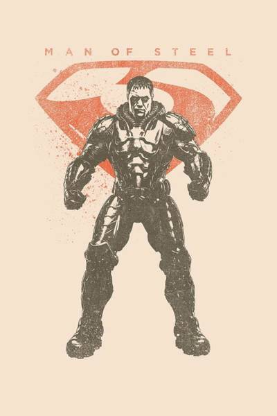 Man Of Steel Wall Art - Digital Art - Man Of Steel - Faded Zod by Brand A