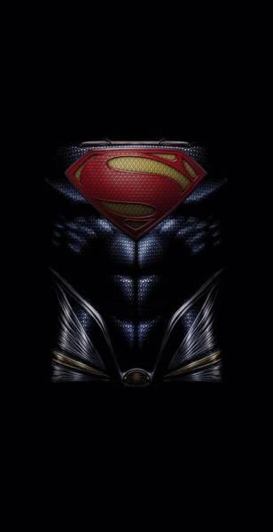 Man Of Steel Wall Art - Digital Art - Man Of Steel - Mos Costume by Brand A